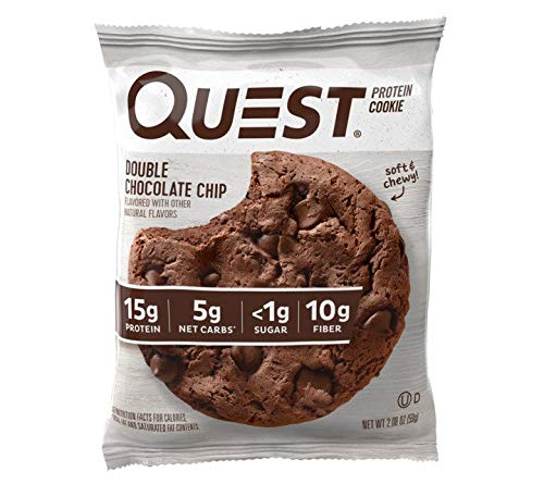 Quest Nutrition Double Chocolate Chip Protein Cookie