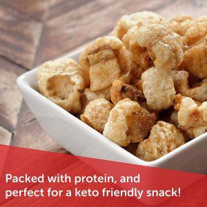 keto friendly pork rinds snacks