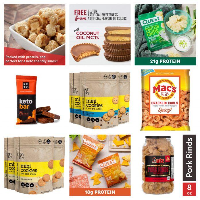Best Low Carb / Keto Friendly Snacks on Amazon